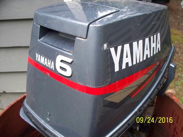 6 HP Yamaha Outboard Motor