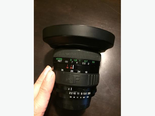 NIKON Phoenix AF 19-35mm f/3.5-4.5 FULL FRAME FX