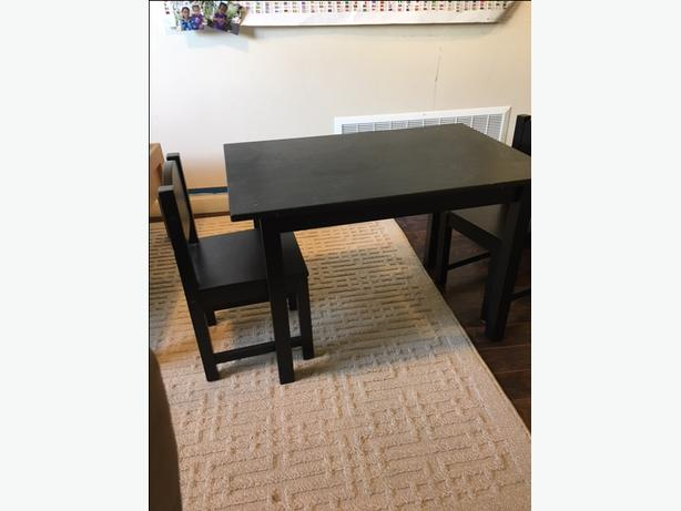 Great Kids Table and Chair for only $20!