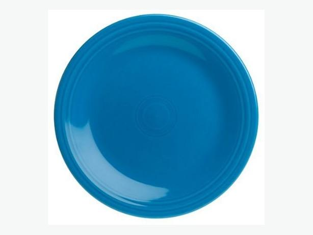 Four Fiestaware Dinner Plates