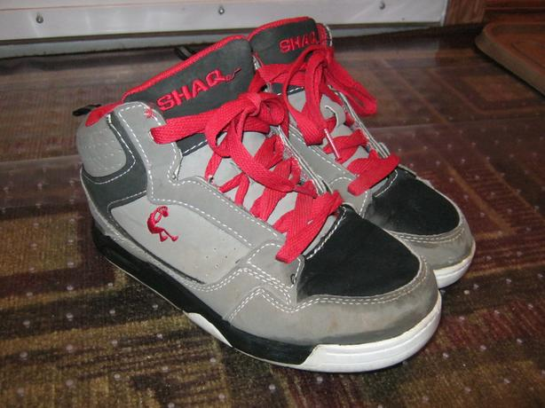 Boys Shaq high top runners