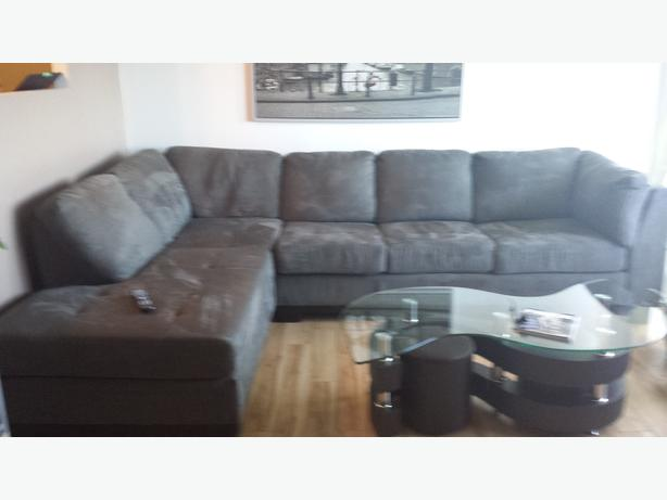 SECTIONAL WITH A QUEEN BED FOR SALE