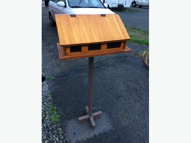 hand made mail box