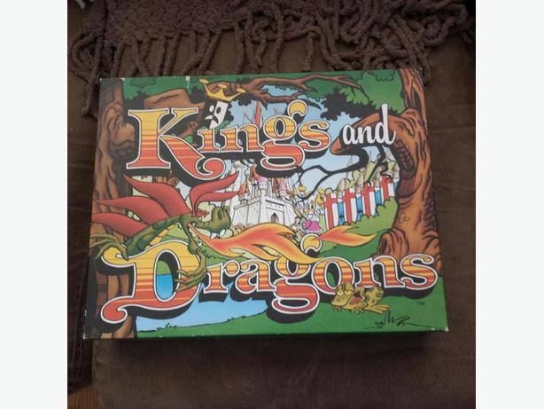 Kings and Dragons Board Game - NEW
