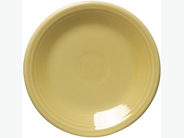 Four Fiestaware Salad Plates