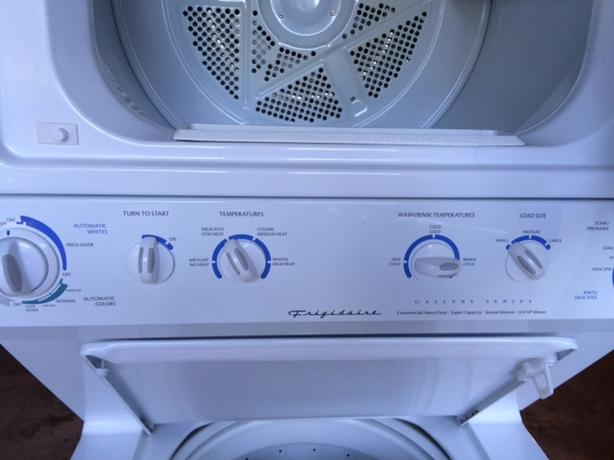 Like New Stackable Washer and Dryer Asking $800 OBO Frigidaire