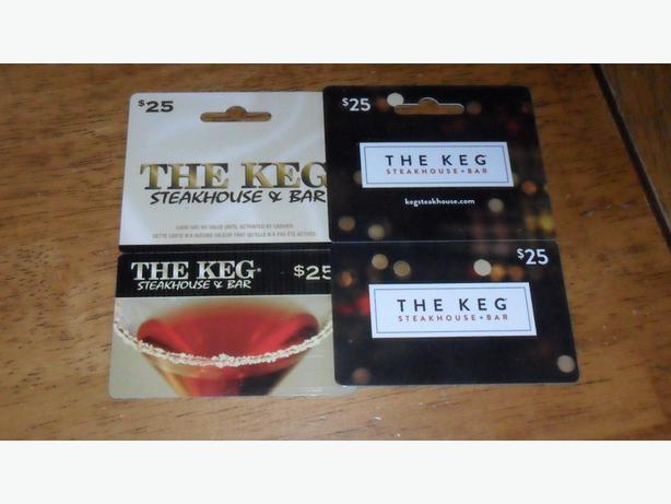 Keg Gift Cards