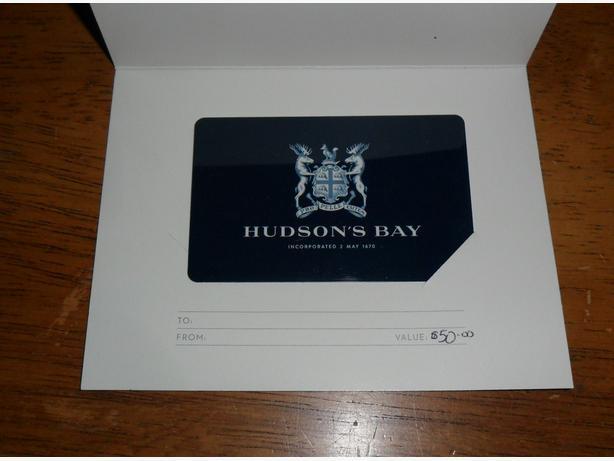 Hudson Bay Gift Card