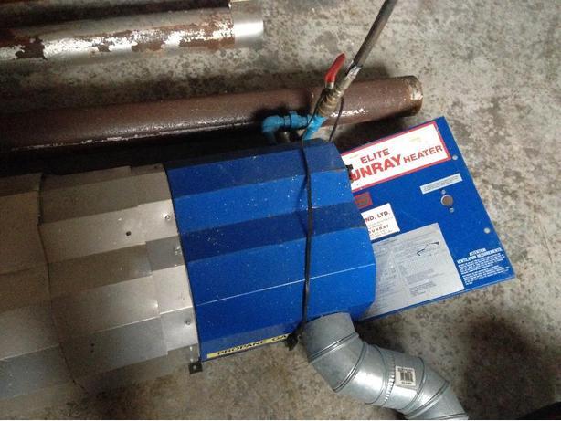 Sunray 85-A Infrared Garage Heater