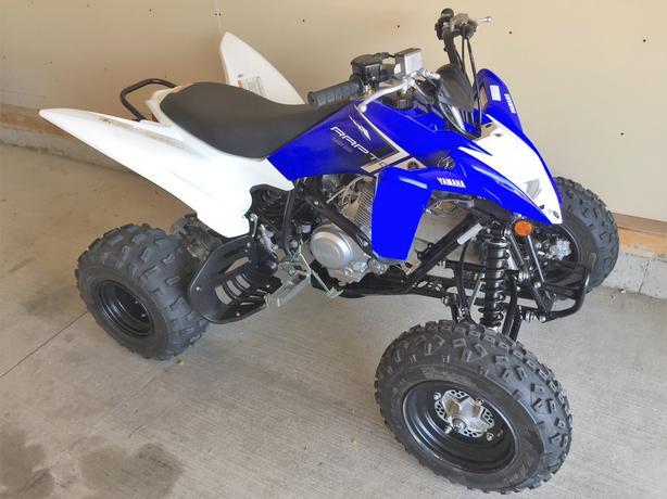 2015 Yamaha raptor 125