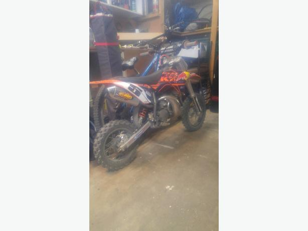 2013 ktm sx50 done right up!!