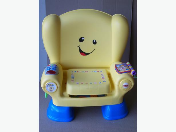 LAUGH AND LEARN SMART STAGES CHAIR BY FISHER PRICE
