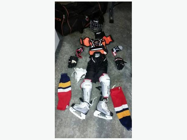 Kids Full set of Hockey Gear