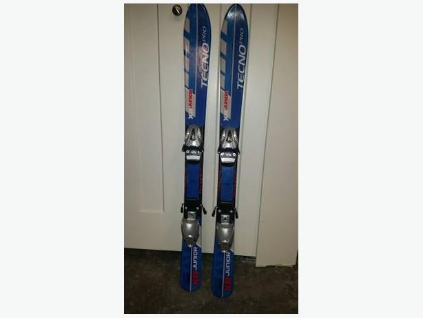 Kids Tecno Pro Skis 100cm