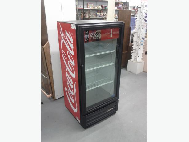 Smaller Commercial Coca-Cola Fridge