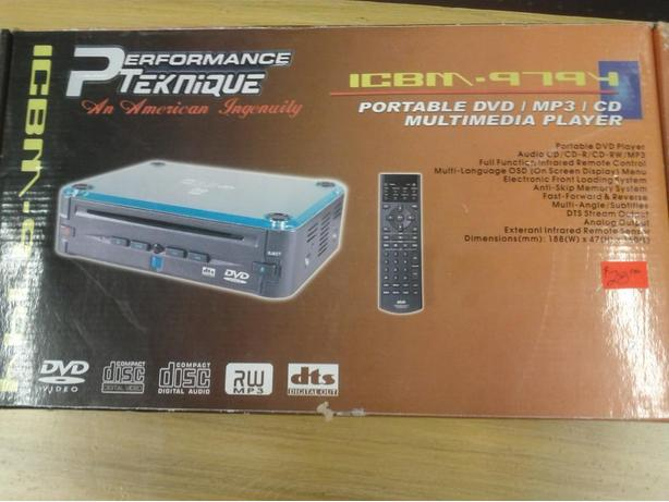 Portable DVD/MP3/CD Player