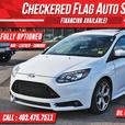 2014 Ford Focus ST NAV-LEATHER-SUNROOF-RECARO SEATS-252HP