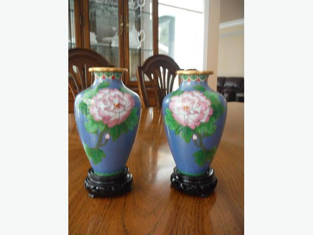 Pair of Chinese vases.
