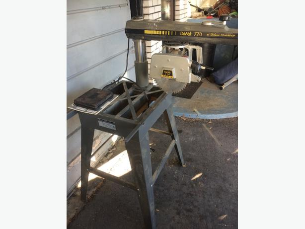 Dewalt 10 inch radial arm saw