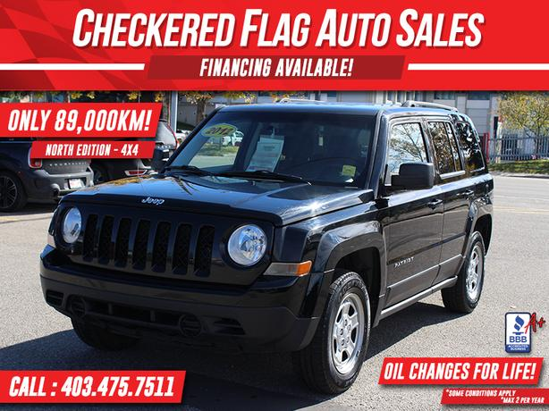 2012 Jeep Patriot NORTH EDITION-4X4-89000 km