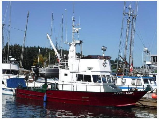 1988 Boreal Alaska US Built - Raven Lady