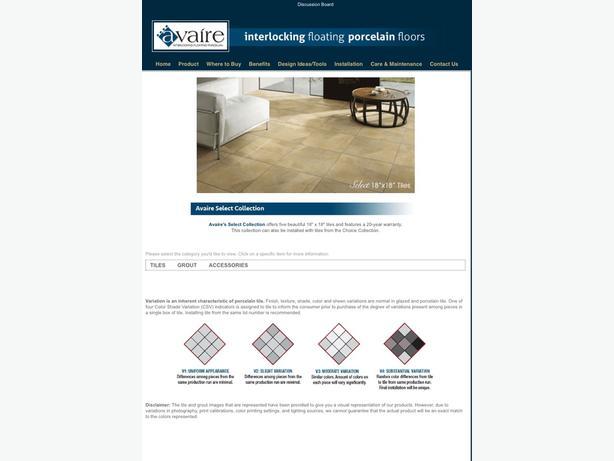 Avaire porcelain floor tiles