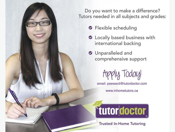Part -Time English/Elementary Tutor needed for Richmond.