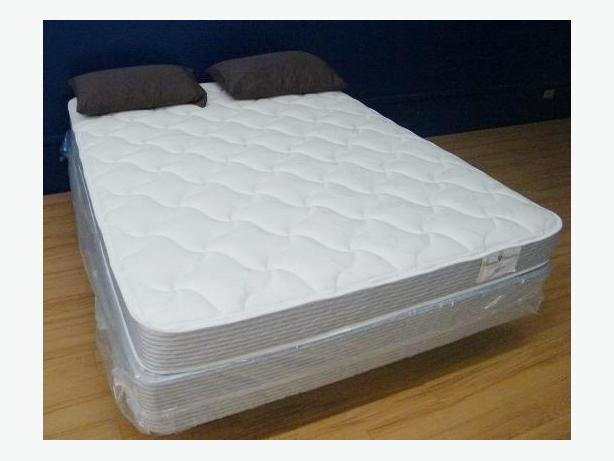 New queen mattress set still in plastic