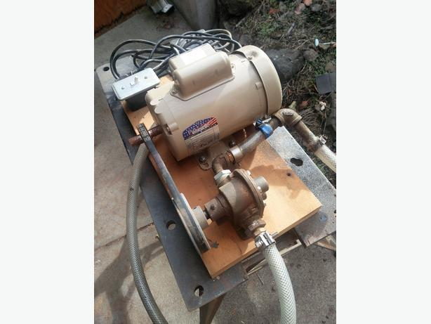 transfer gear pump