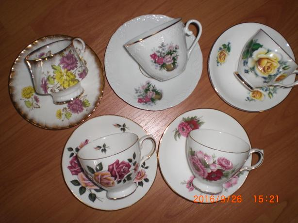 Beautiful China Tea Cups