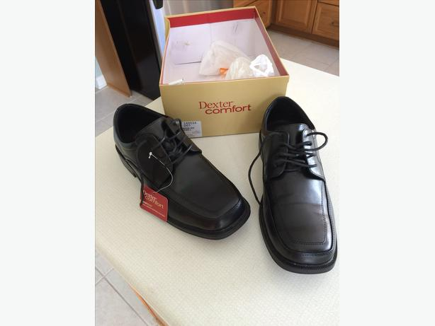 Men's Black Dress Shoes: 2 Pairs