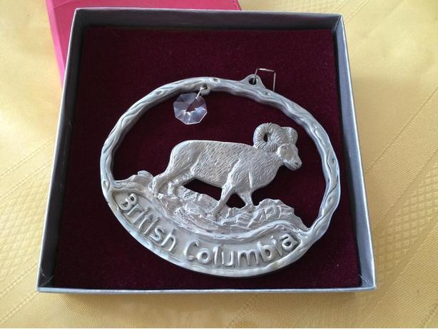 New British Columbia Pewter Souvenir