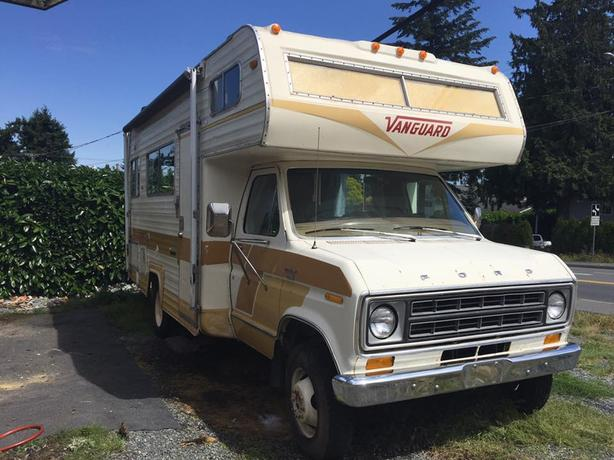1978 Vanguard Motorhome 21ft