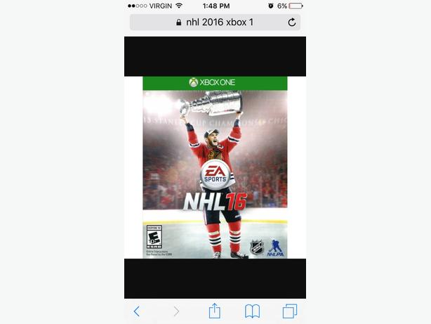 xbox one - NHL 16 ( 2016 ) - used but works great!