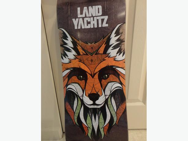 "LAND YACHTZ - 35"" longboard dropdeck (skateboard) - Fox design"