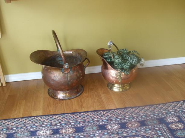 Decorative Copper Pots