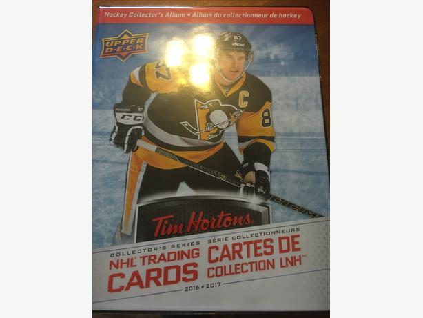 Tim Hortons Hockey Cards 2016/2017
