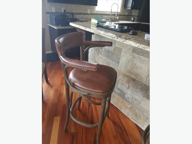 Restoration Hardware - $600.00 For All 3 Leather Stools