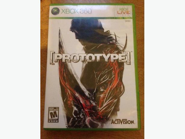 Prototype  xbox 360 game
