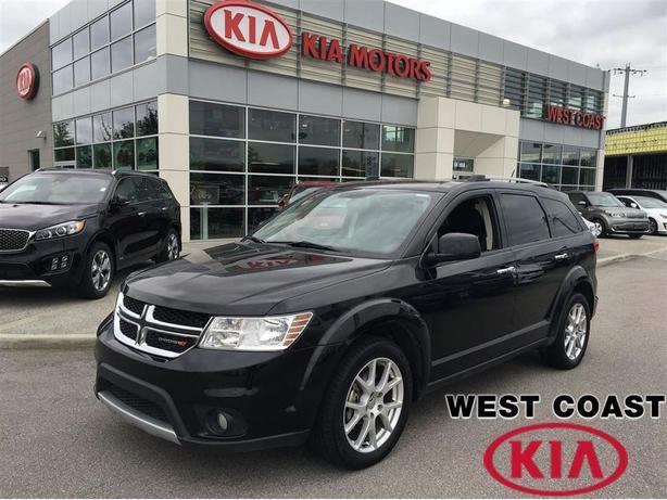 2015 Dodge Journey R/T AWD Leather 7 Seat in Black