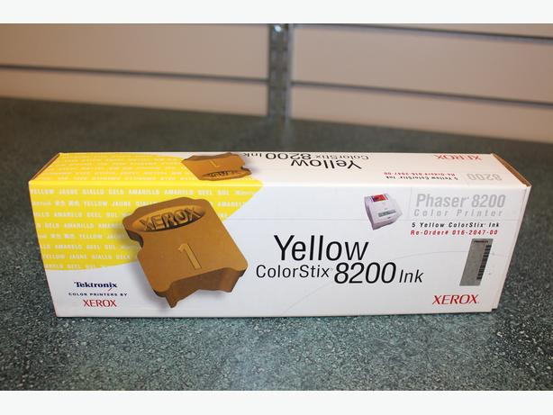 Xerox Phaser 8200 Yellow Clr Stix (5 Pk)
