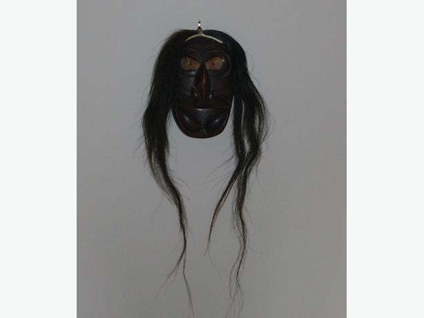 Dramatic Door Keeper Mask, by David E Hills signed