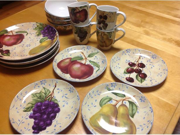 Harvest Stoneware Dishes
