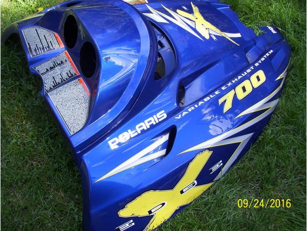 Polaris Edge X 700 800 600 hood shroud cowl
