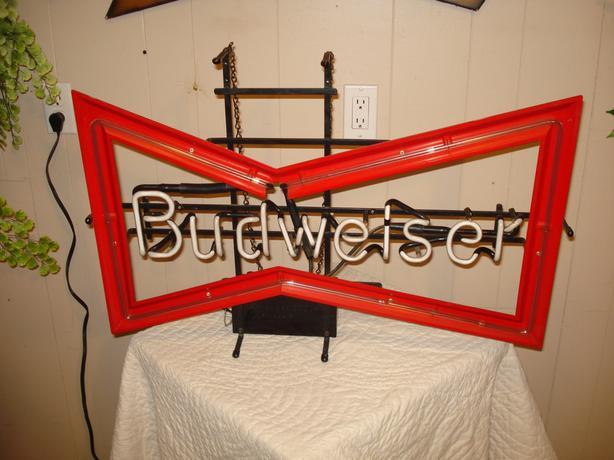 Genuine Budweiser Neon Sign!