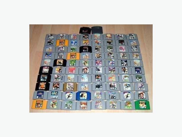 Classic Nintendo 64 (N64) Games