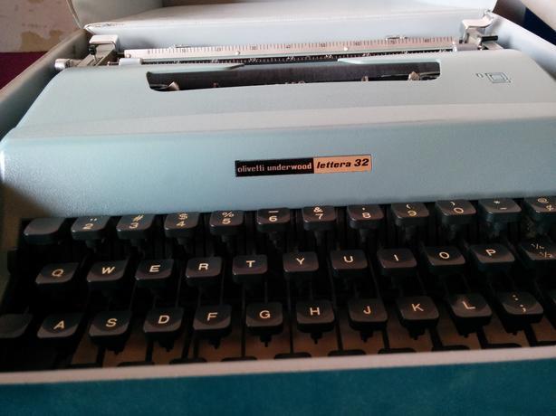 Vintage 1963 Olivetti Typewriter