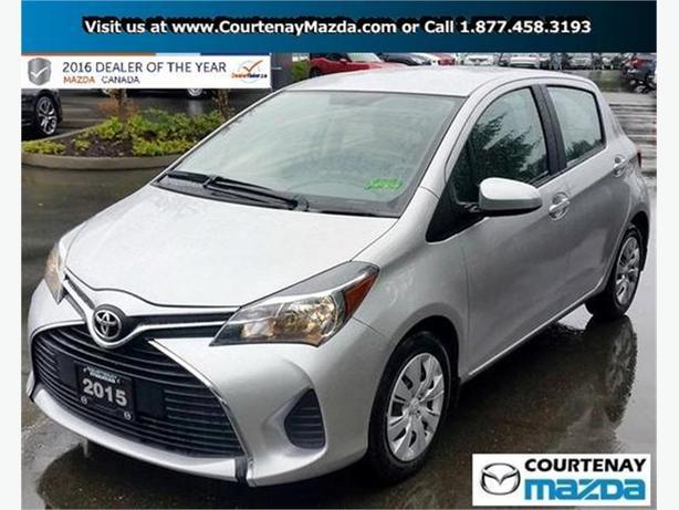 2015 Toyota Yaris 5 Dr LE Htbk 4A