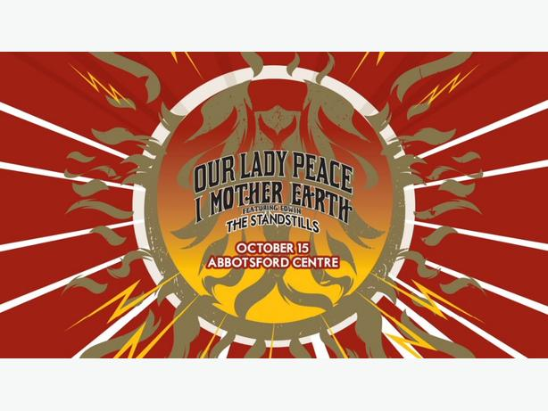 our lady peace & i mother earth oct 15