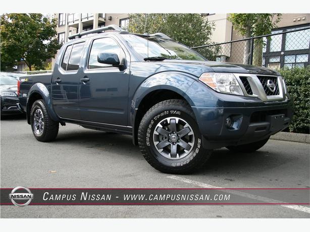 2015 Nissan Frontier PRO-4X CREW/CAB
